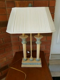 white and brown table lamp Brampton, L6R 1L5