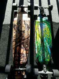2 Long Boards (skate board)