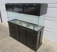 Cabinet for 100 gallon fish tank **CABINET ONLY** MILTON