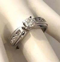 14k white gold custom diamond engagement ring *Compare at $3,200 Vaughan, L4J