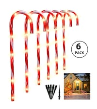 Candy Cane Christmas Lights NEW ½ PRICE