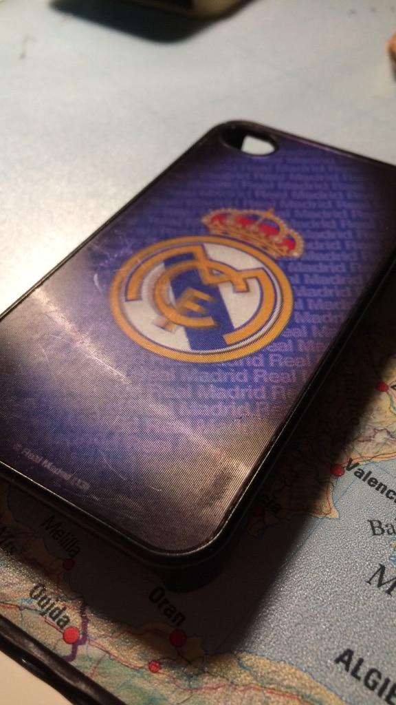 Real Madrid deksel iPhone 4