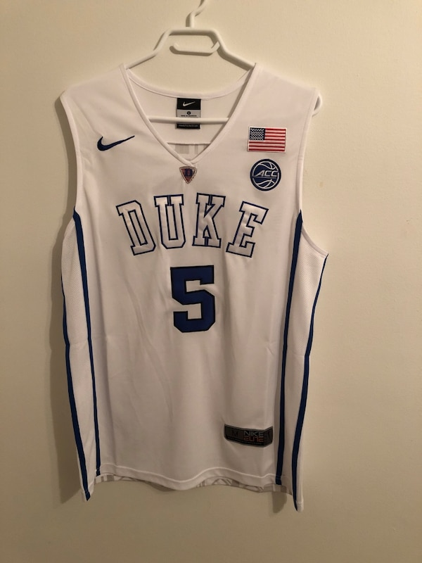 new product 64cd8 d3149 Brand New R.J. Barrett Duke NCAA Jersey