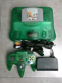 Nintendo 64 Jungle Green N64 Courtice