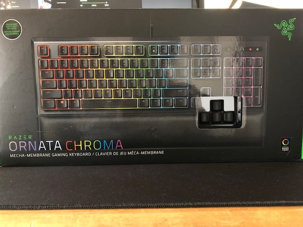 a57f69a88ec Used Razer Ornata Chroma Gaming Chroma for sale in New York letgo Source · Razer  Ornata Chroma Revolutionary Mecha Membrane Gaming Keyboard Singapore