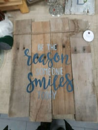 Handmade hand painted rustic sign Innisfil, L9S 1Z7