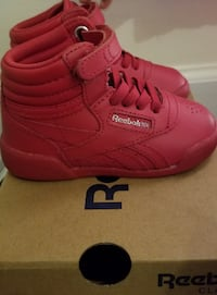 Reebok Classic Red-Toddler Girl RALEIGH