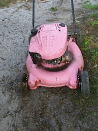 pink and black push mower Portsmouth, 23707