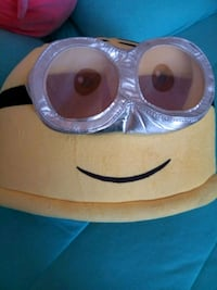 Plush minion head