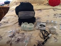 White and black electric breast pump Bangor, 18013