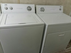 #1704 Whirlpool Estate washer and electric dryer