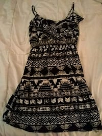 black and white tribal print sleeveless dress Coral Springs, 33065