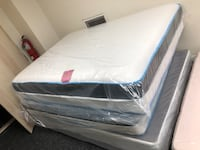 white and gray mattress in pack Baltimore, 21231