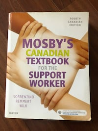 Mosby's Canadian Textbook for the Support Worker Montréal, H3W 1K6