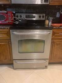Built in microwave & electric oven