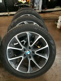 "BMW 19"" WHEELS & RUN FLAT TIRES MINT CONDITION Houston, 77056"