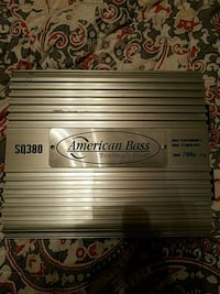American Bass Amplifier car audio Duncan, 73533
