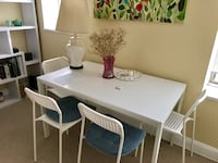 Selling: Like-New White Table: MUST BE PICKED UP BY TUES, JULY 24  Washington, 20009