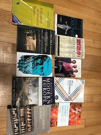 Student books for sale. Message me for prices. Westmount, H3Y 3G7