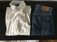 Tommy Hilfiger men's jeans and polo shirt out-fit Surrey, V4A 3B2