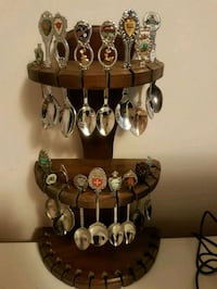 Spoon collection with stand  552 km