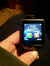 black smartwatch with black strap Middletown, 45044
