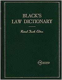 Black's Law Revised 4th Edition Dictionary Washington