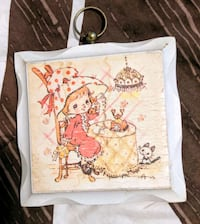 Vintage Strawberry Shortcake phone kitty picture