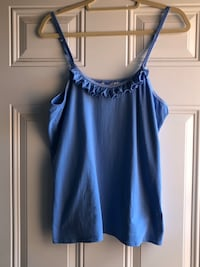 Nordstrom Dream Sleepers Plus size 1X blue cami or sleep top.