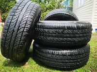 All Season  Mirage 215/70R15 with Rims Excellent Condition