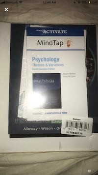 Sealed PSY100 textbook. Psychology ONLINE textbook 101  Toronto