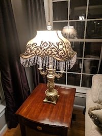 Large Decorative Table Lamp FALLSCHURCH