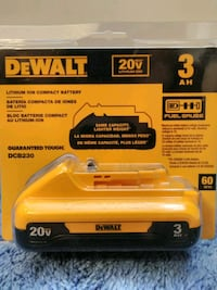 DeWALT 20V battery  Nashville, 37207