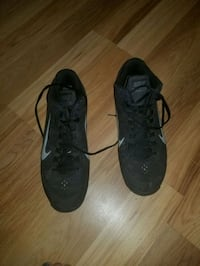 pair of black Nike athletic shoes Tunnel Hill, 30755