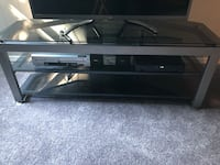 Black  framed glass top tv stand Cherry Hill, 08034