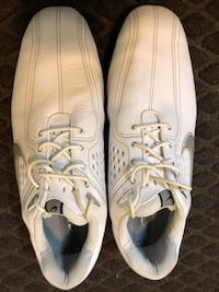 White Nike Air Zoom Golf Shoes. New. Never used. Comes with travel bag   Sandy Springs, 30342