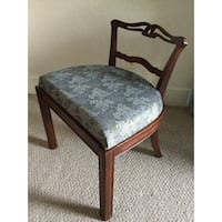 Vintage Knotted Low Back Vanity Chair (circa 1940s) Tacoma, 98418