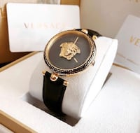 Versace Palazzo Leather Band Watch Innisfil, L9S 4B9