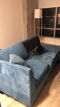 gray fabric sectional sofa with throw pillows 2290 mi