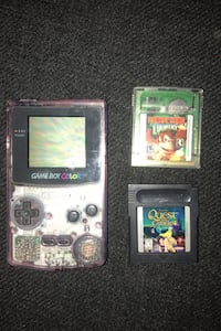Game boy with donkey Kong country