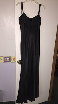 Women's black spaghetti-strap maxi dress Lake Charles, 70607