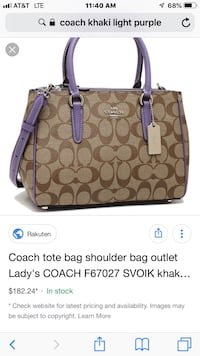 Coach new with tags