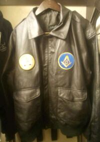 Bomber Leather Coat