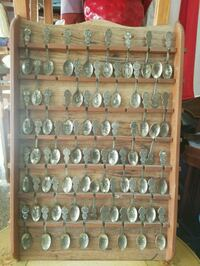 AMERICAN COLLECTORS GUILD STATE SPOON COLLECTION  Plant City, 33565