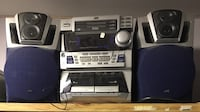 Mini stereo 3 Cd player first $70 takes St Albert, T8N 1Y3