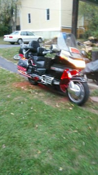91 Honda Gold Wing 1500 with reverse