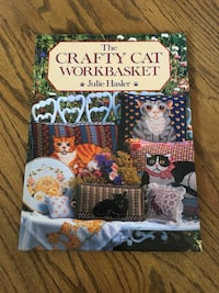 The Crafty Cat Workbasket - Hardcover Book - 128 pages  New Lenox, 60451