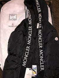 Black Padded Montcla Moncler Jacket