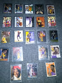 Kobe Bryant rookie card collection  Temple City, 91780