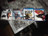 Ps3 and ps4 games Muskegon, 49441